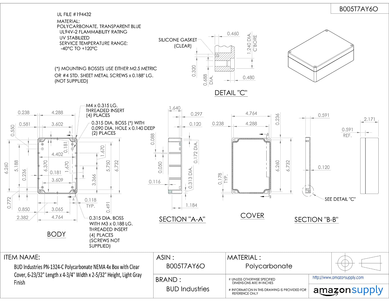 200kA AC//100kA DC 10 Ampere Mersen A30QS10-1 Amp-Trap Semiconductor Protection Fuse 9//16 Diameter x 2 Length 9//16 Diameter x 2 Length 300VAC//DC