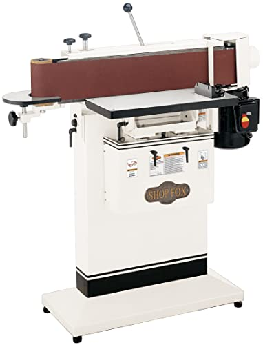 Shop Fox W1688 1.5-Horsepower 6-Inch by 80-Inch Edge Sander