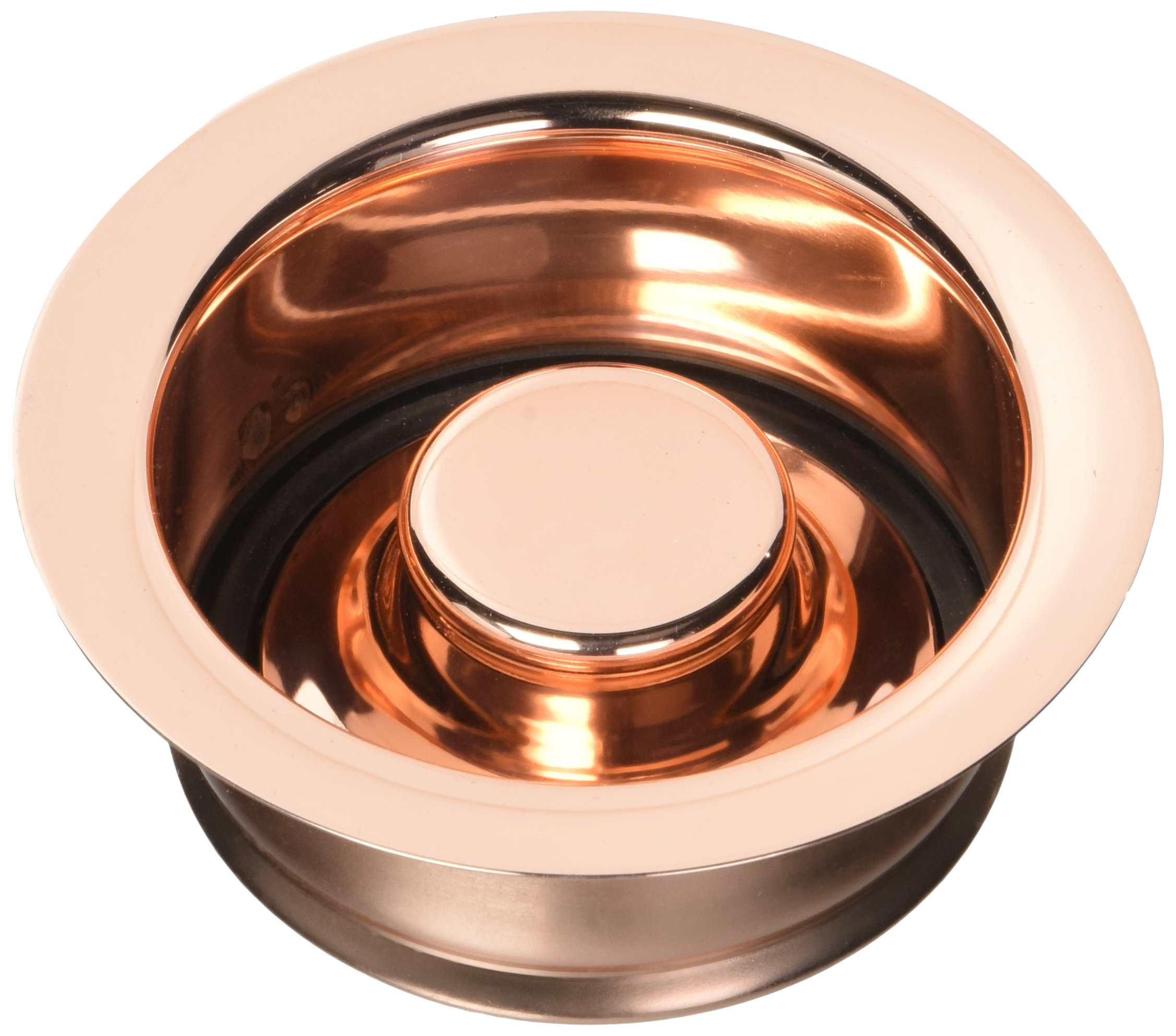 Jaclo 2815-PCU Garbage Disposal Flange with Stopper, Polished Copper by Jaclo