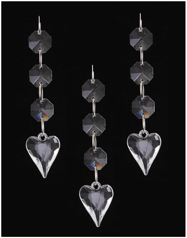 Hot 30PCS Acrylic Crystal Beads Garland Chandelier Hanging Wedding Party Celebration Decor (style 9) Jiangsheng