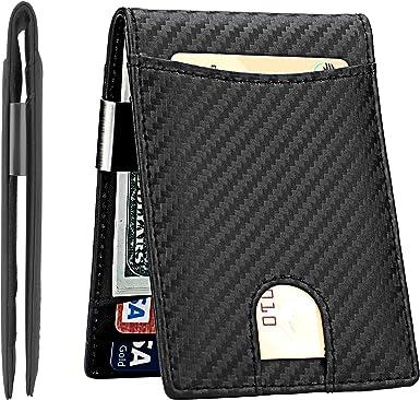 3 Slim Metal USA Ship Money Clip Pocket Wallet Money Card Holder New Bulk