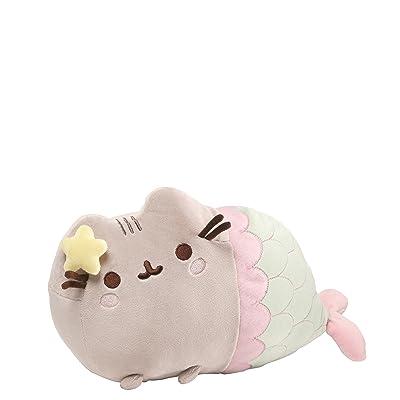 "GUND Pusheen Mermaid with Star Plush Stuffed Animal Cat, 12"": Toy: Toys & Games"