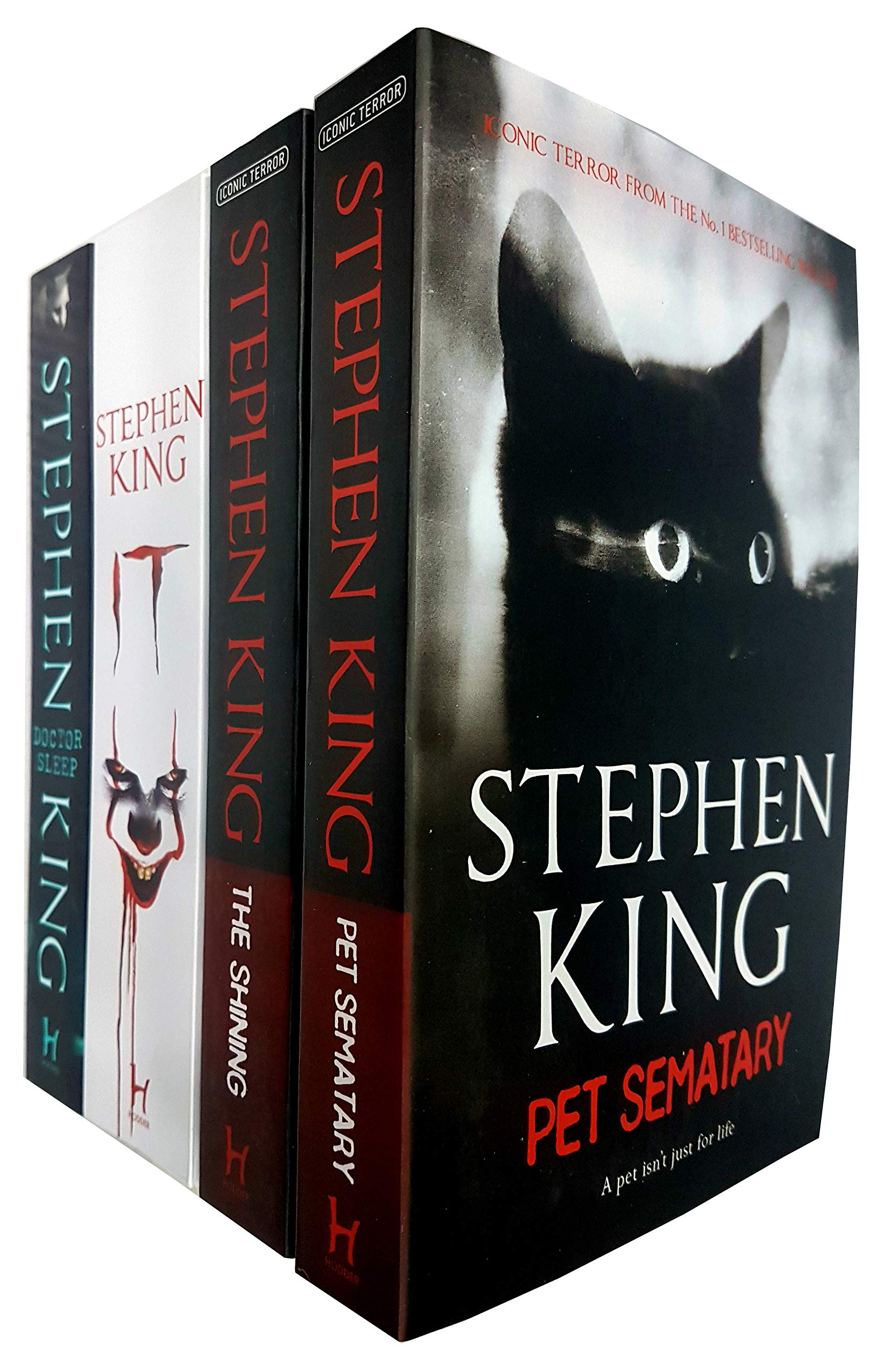 Stephen King Collection 4 Books Set (Pet Sematary, The Shining, It, Doctor Sleep) by Hodder Paperbacks