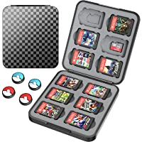 HEYSTOP Game Card Case Compatible with Nintendo Switch Cartridges Holder Carrying Storage Case Box, Portable Thin Hard…