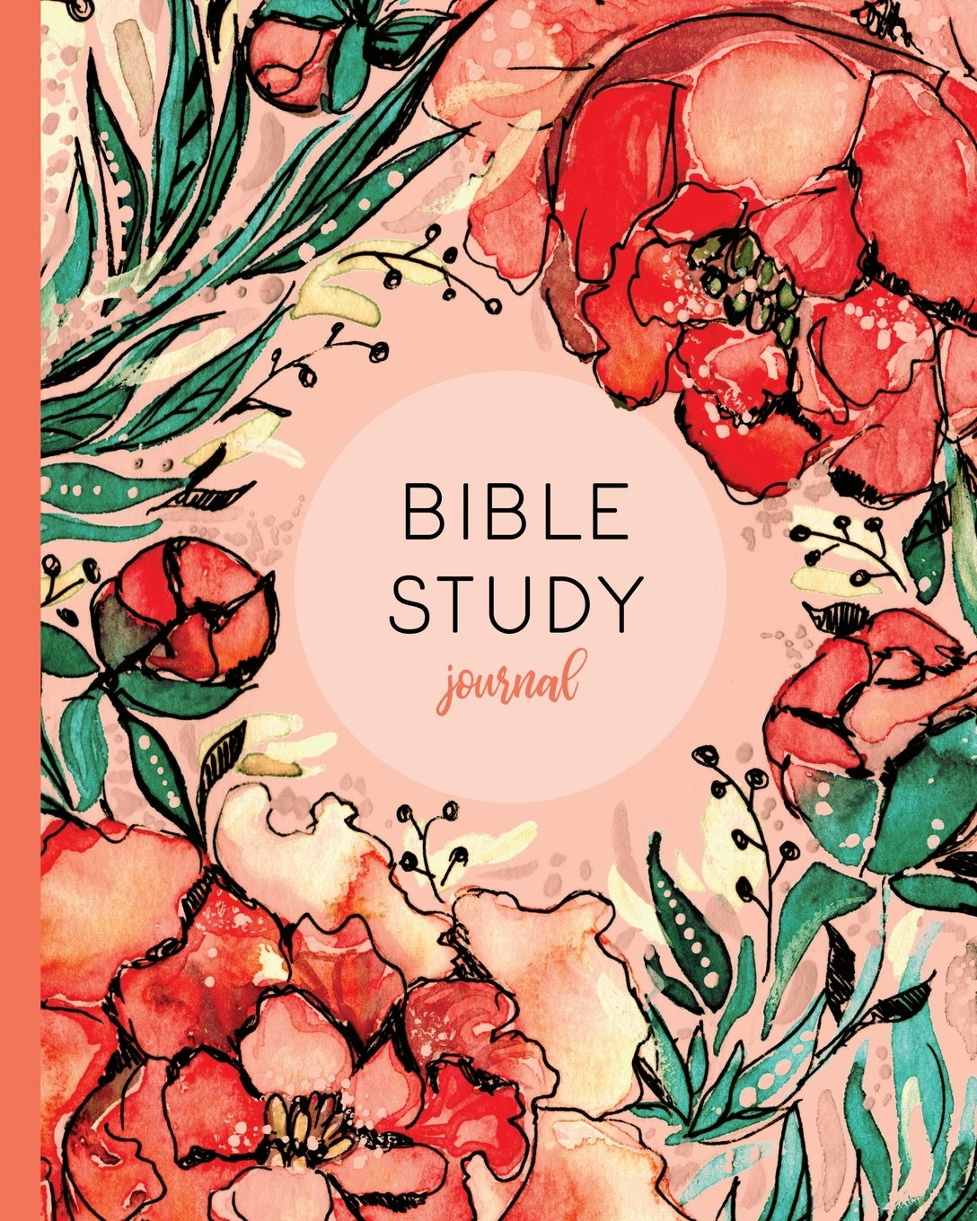 Bible Study Journal: Christian Journal With Prompts, Red Floral (Bible Study Guides And Workbooks) pdf