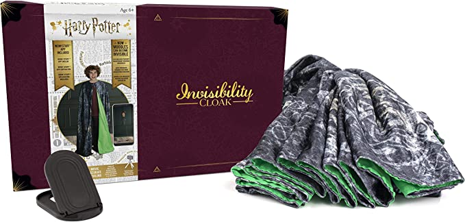 Amazon.com: WOW! PODS Harry Potter Invisibility Cloak Deluxe Version: Toys & Games