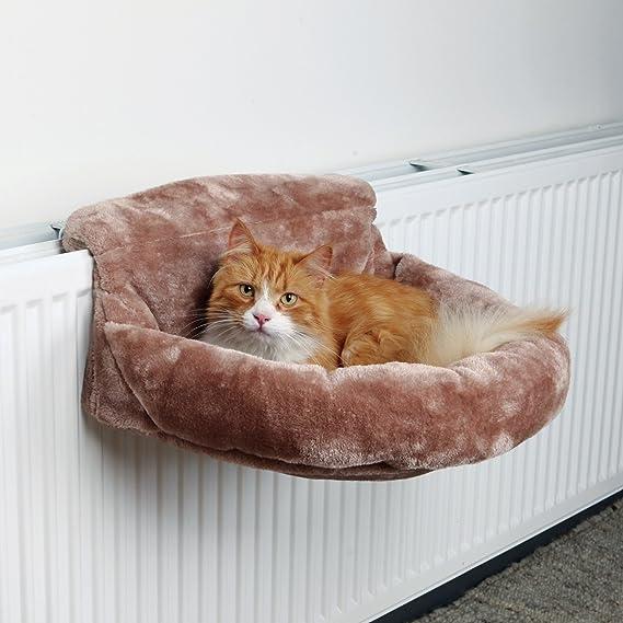 Suave Bolsa para radiadores, felpa, 46× 11× 33cm, marrón: Amazon.es: Productos para mascotas