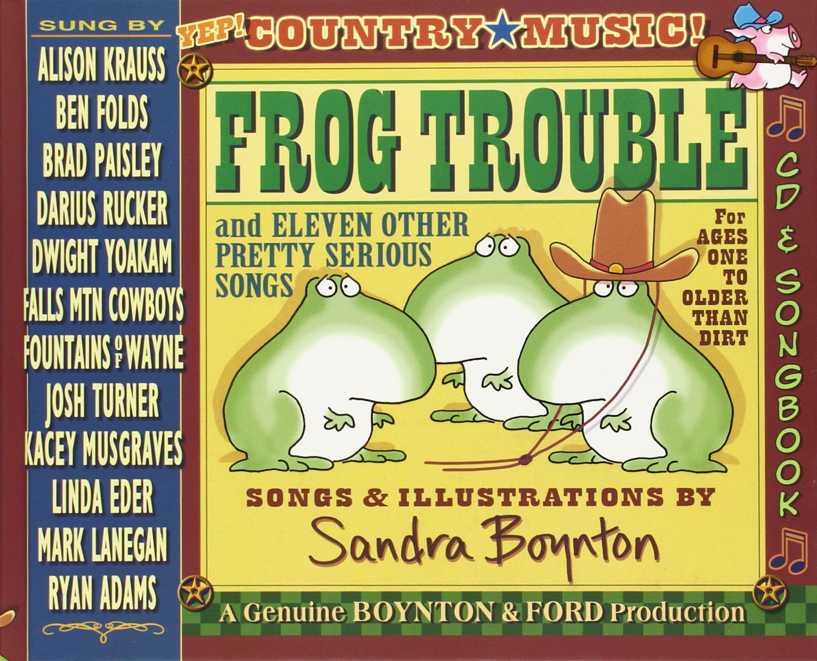Frog Trouble And Eleven Other Pretty Serious Songs Sandra