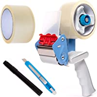Deals on BFO Industries Moving Kit Tape Gun, 2 Rolls Of Tape