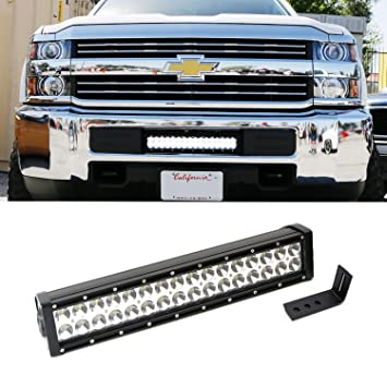 Amazon ijdmtoy complete lower bumper mount high power led ijdmtoy complete lower bumper mount high power led light bar w mounting bracket wiring mozeypictures Image collections