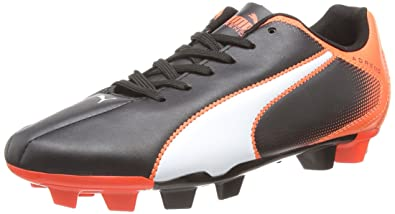 Puma Adreno FG F5, Unisex Adults Football Boots, Black (Black/White/