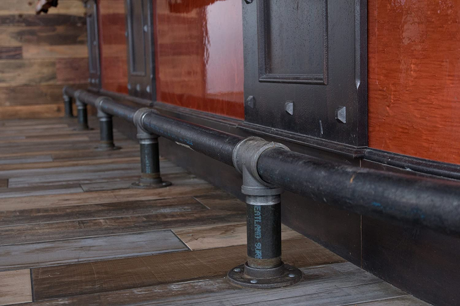 Best Of Rustic Bar Foot Rail