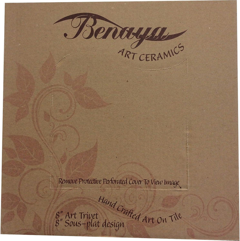 Benaya Poppy 20,3/x 20,3/cm avec carr/é carrelage en c/éramique
