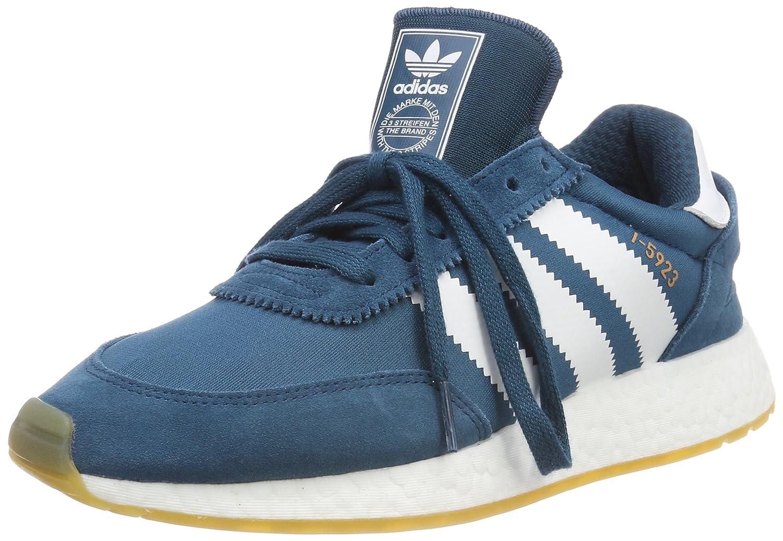 Adidas I-5923 W, Zapatillas de Deporte para Mujer 41 1/3 EU|Azul (Petnoc / Ftwbla / Gum3 000)