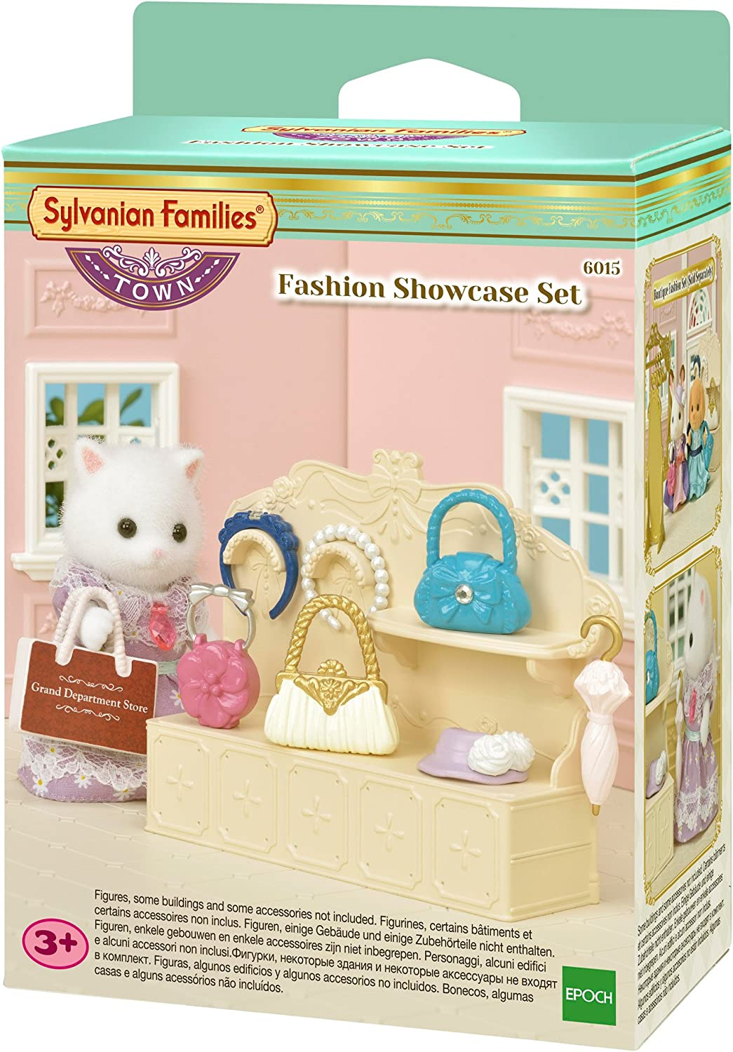 Epoch Sylvanian Families TS-11 Town Series Chocolate Launge Doll not included