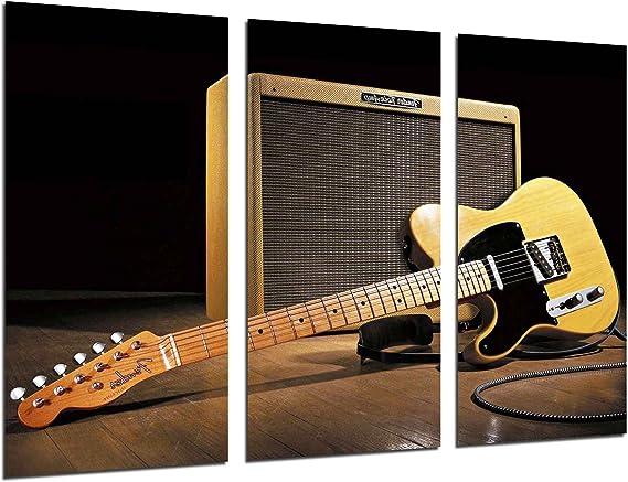 Cuadro Fotográfico Musica, Guitarra Fender Stratocaster