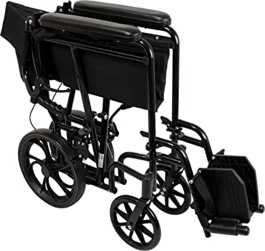 Amazon Com Probasics Aluminum Transport Wheelchair With 19 Inch