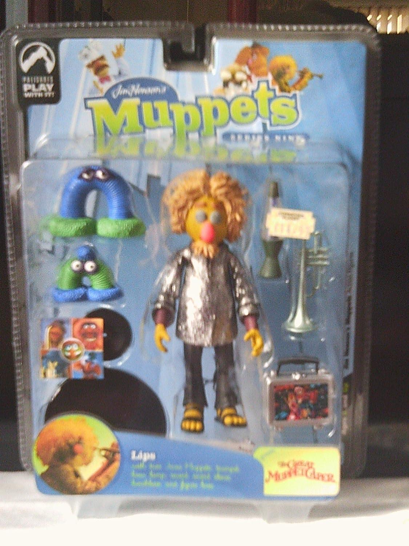 Muppet Muppet Muppet Show Series 9  Lips variant action figure; Electric Mayhem RARE a48412