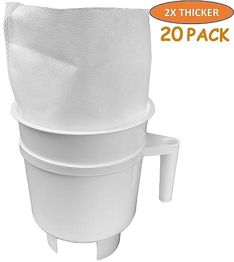 Amazon.com: Tezpak - 20 bolsas de filtro de café frío para ...