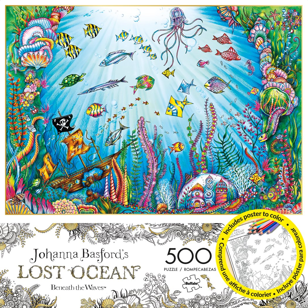 Amazon Buffalo Games Johanna Basfords Lost Ocean