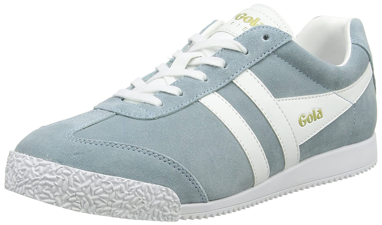 Gola Women's Cla192 Harrier Fashion Sneaker B01M7UD9II 9 B(M) US|Sky Blue/White