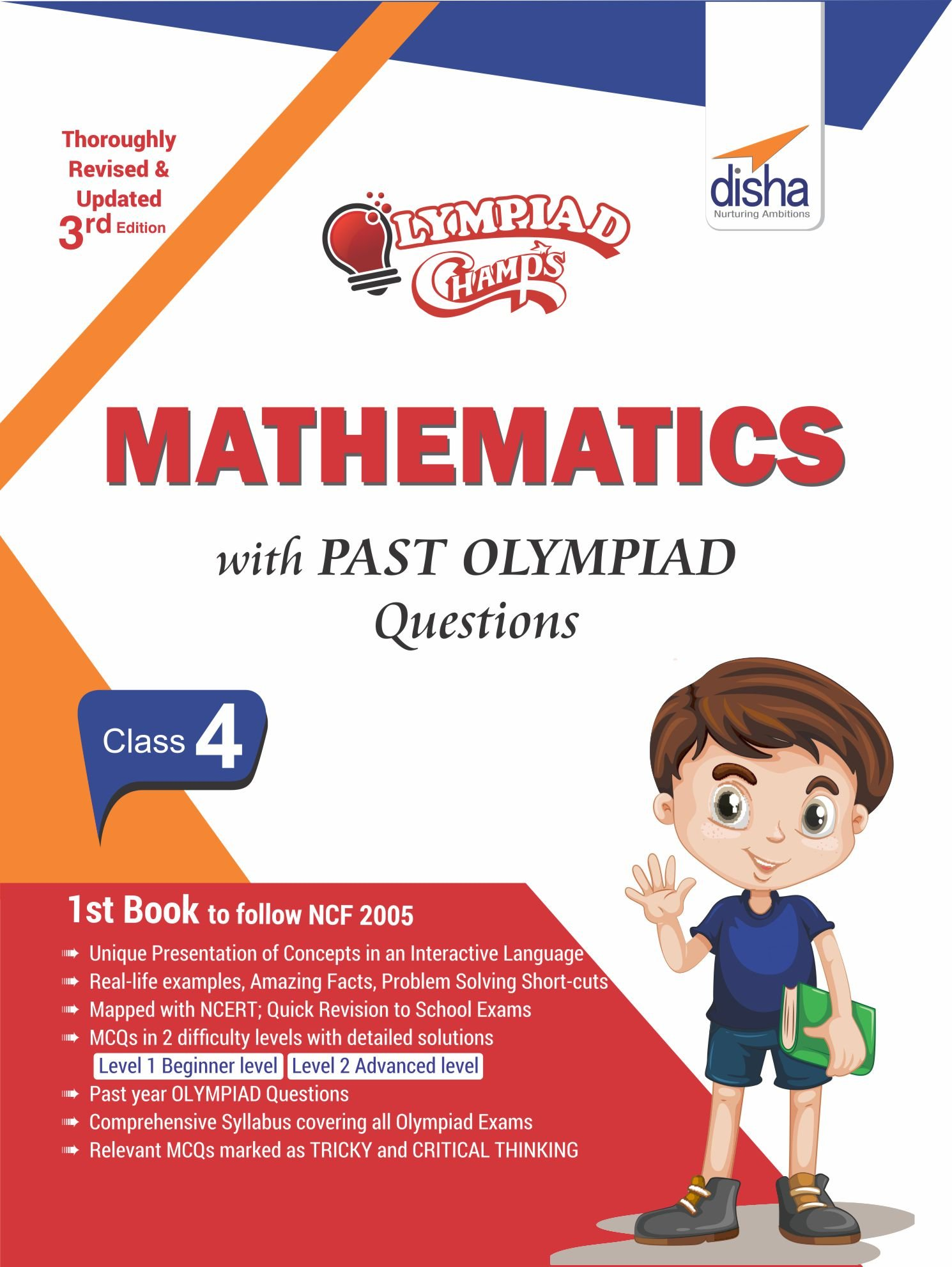 Buy Olympiad Champs Mathematics Class 4 with Past Olympiad