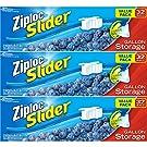 Ziploc Slider Storage Bags Gallon Value Pack 32 ct (Pack Of 3)