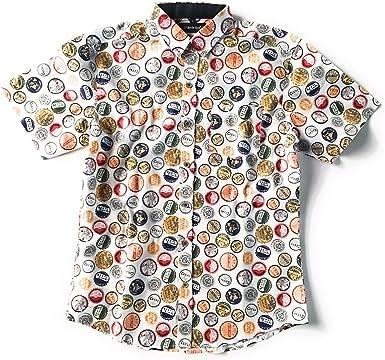 TRANKILO Camisa Chapas Blanco. (XL): Amazon.es: Ropa y accesorios