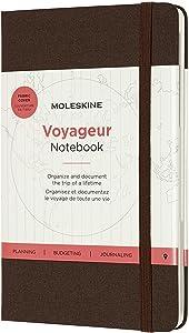 Moleskine Voyageur Notebook, Hard Cover, Medium (4.5