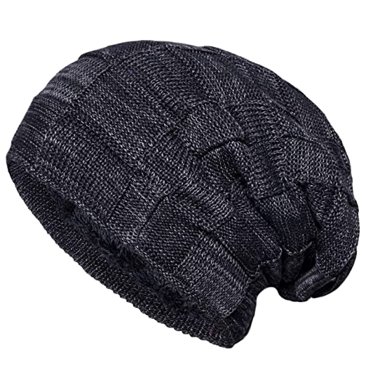 2dfac624ed3 Senker Slouchy Beanie Knit Cap Winter Soft Thick Warm Hats for Men and  Women
