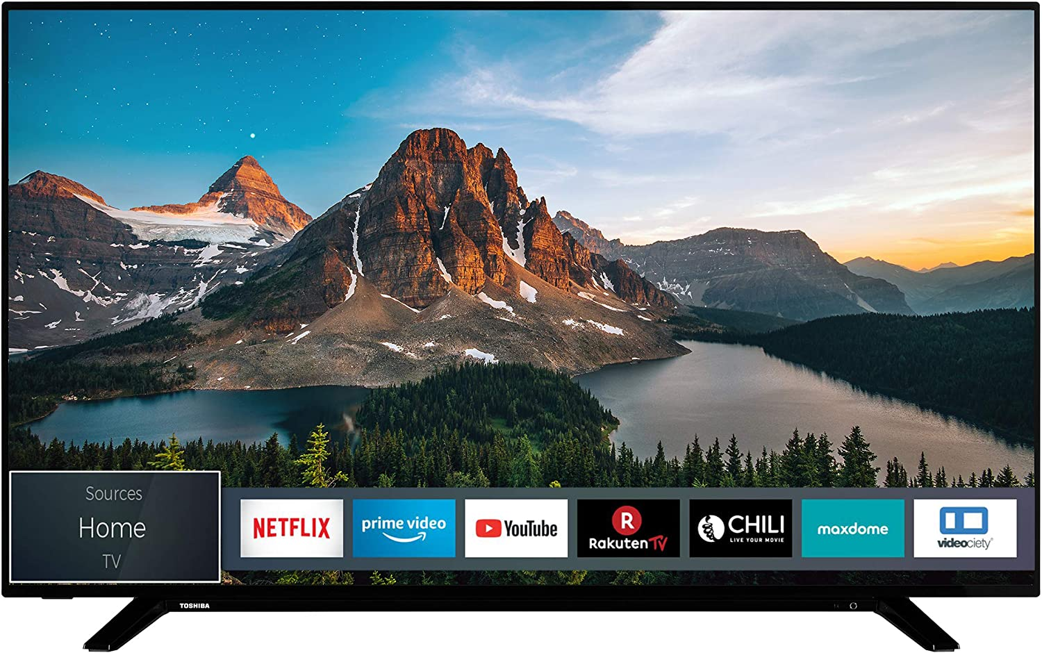 Tv toshiba 55pulgadas led 4k uhd - 55u2963dg - smart tv - wifi - hdr10 - hd dvb - t2 - c - s2 - hdmi - usb - dolby visi