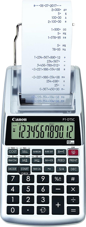 Canon TISCHRECHNER P1-DTSC II Silber