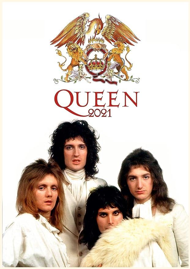Queen 2021 A3 Poster Calendar 15/% OFF MULTI ORDERS!