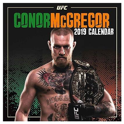 Ufc Calendrier.Conor Mcgregor Officielle Notorious Ufc 2019 Calendrier 30