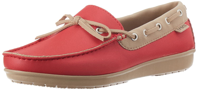 Crocs Women's Wrap ColorLite Loafer B00HFP7BMI 5 W US|Pepper/Tumbleweed