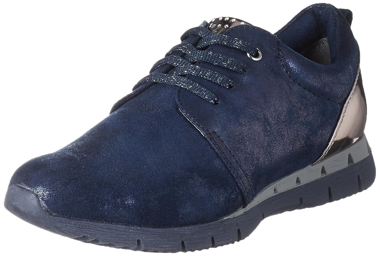 Marco Tozzi 23700, Zapatillas para Mujer 42 EU|Azul (Navy Met. Comb)