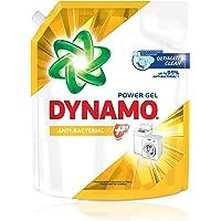 DYNAMO Power Gel Laundry Detergent Refill, Anti-Bacterial, 3kg,