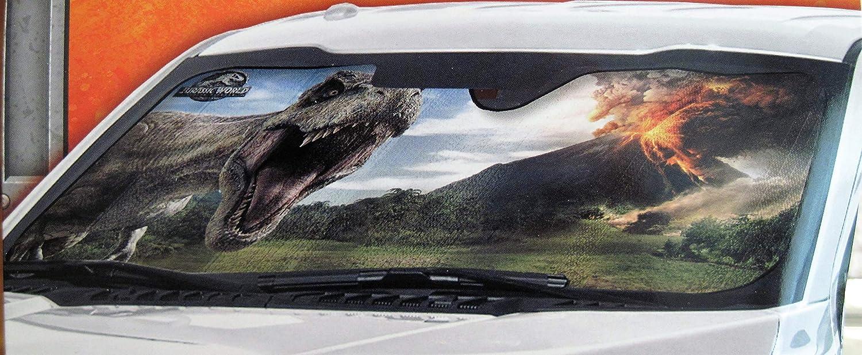 Jurassic World Auto Sunshade Keeps Car Interior Cool