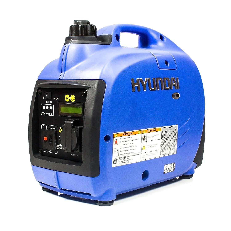 Hyundai HY1000SI 1000/W Benzinenerator blau tragbar