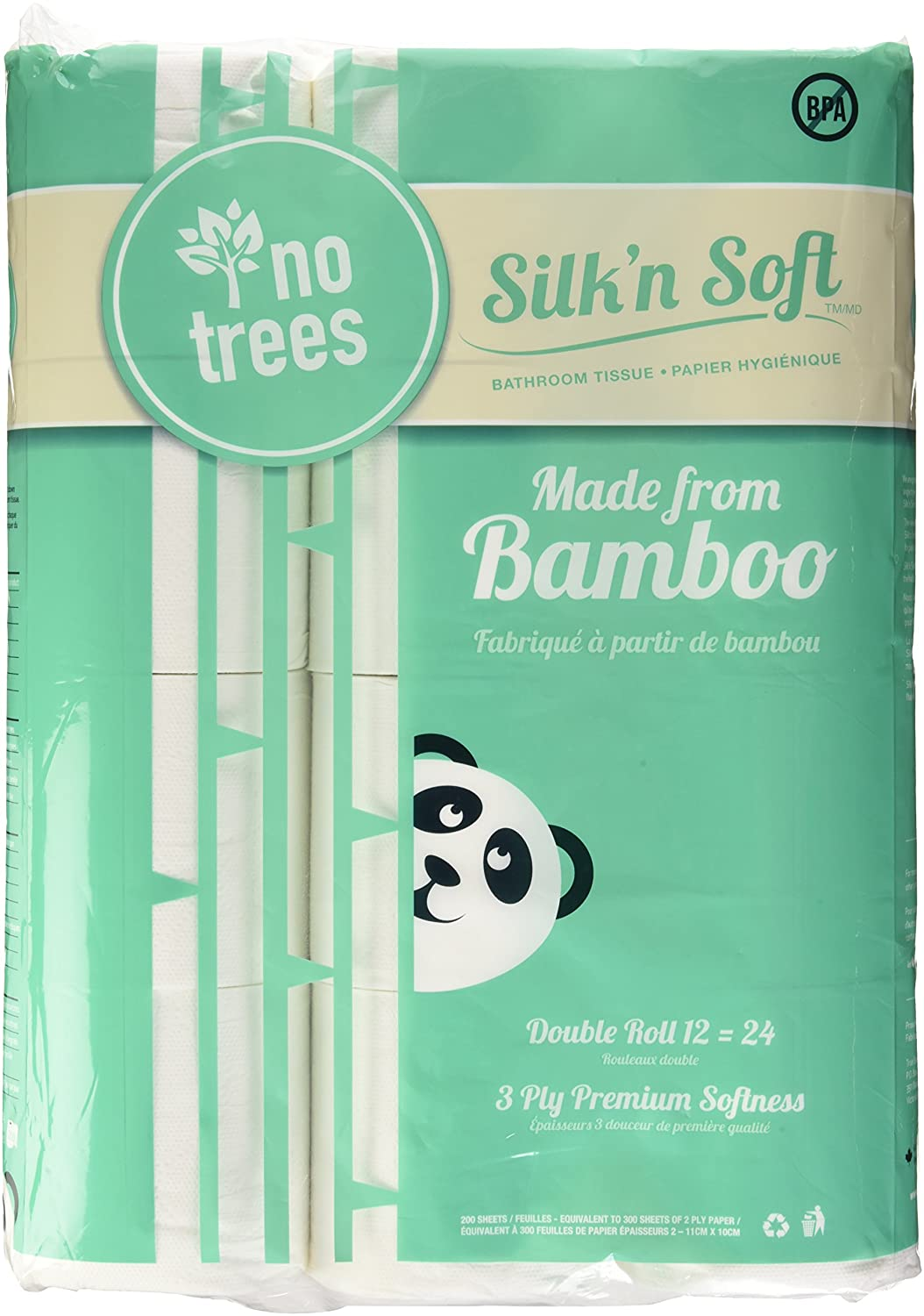 Silk'n Soft Bamboo Toilet Paper