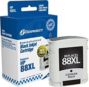 Dataproducts DPC88BXL High Yield Remanufactured Ink Cartridge Replacement for HP #88XL (C9396AN) (Black)