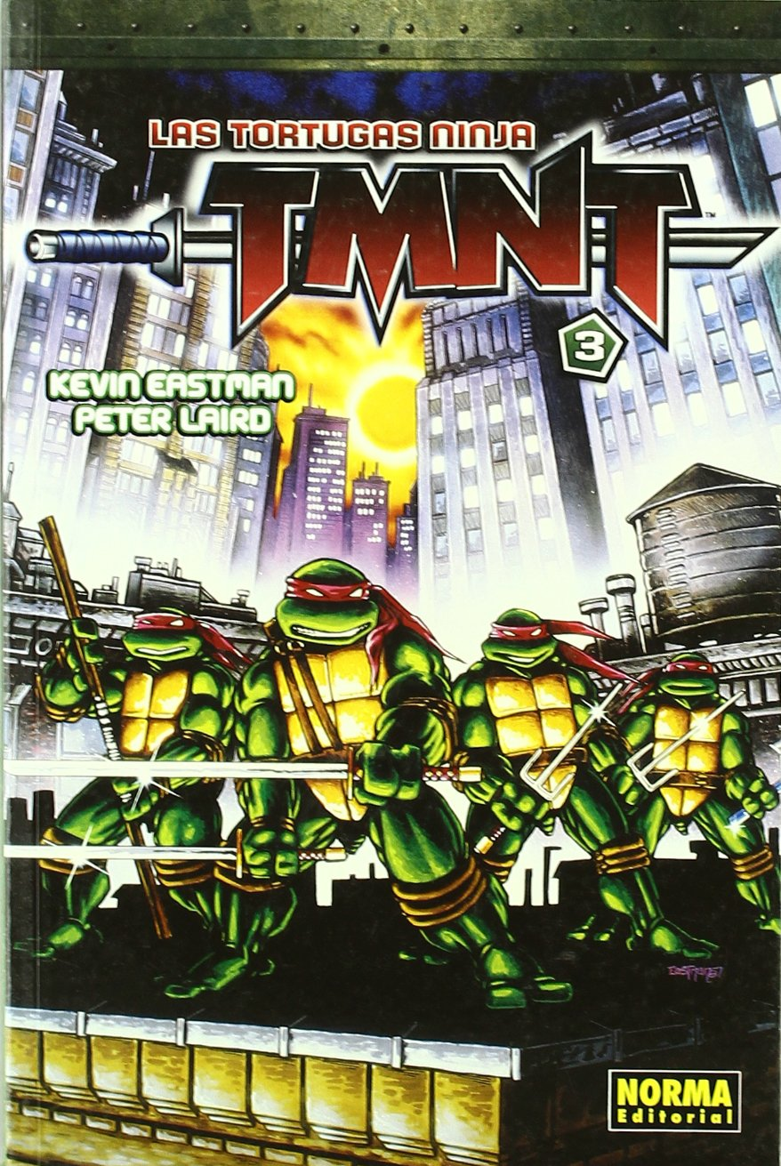 Las tortugas ninja TMNT 3/ Teenage Mutant Ninja Turtles 3 ...