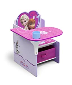Delta Children Chair Desk With Stroage Bin, Disney Frozen