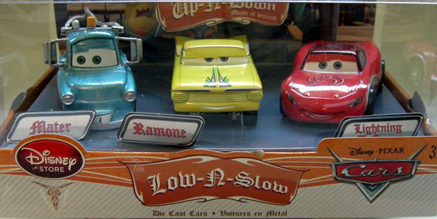 Disney / Pixar Cars Off Road Series Low-N-Slow 1:43 Diecast Car 3 ...