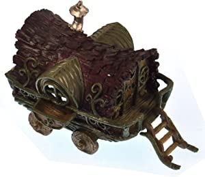 Georgetown Gypsy Wagon Fairy Home - Fiddlehead Fairy Garden Collection