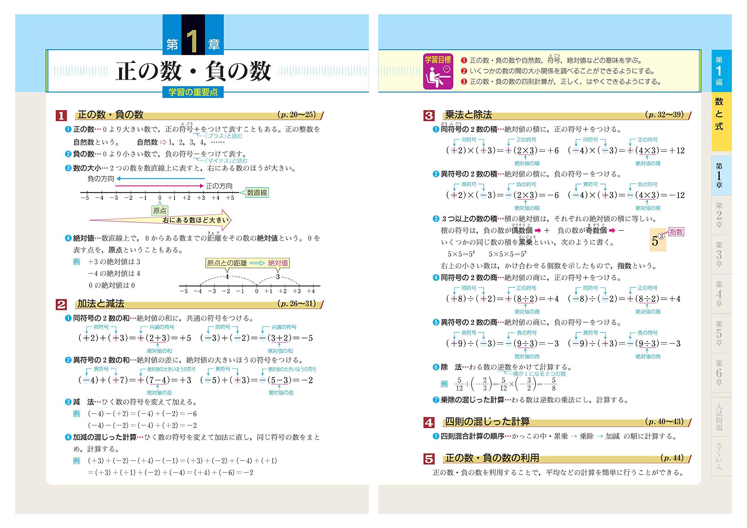中学 数学 自由自在 基礎から難関校受験まで 松本堯生 本
