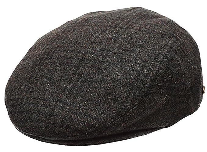 c16c1107 Men's Premium Wool Blend Classic Flat Ivy Newsboy Collection Hat  ,2363-Olive, Medium