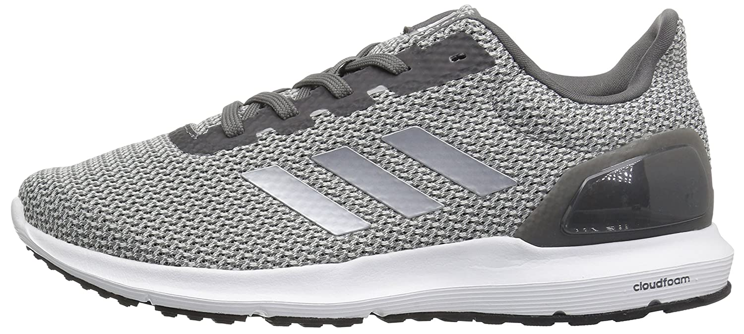 adidas Women's Cosmic 2 Sl W Running Shoe B01MU1PFQ0 5 B(M) US|Metallic Silver/Grey Four/White