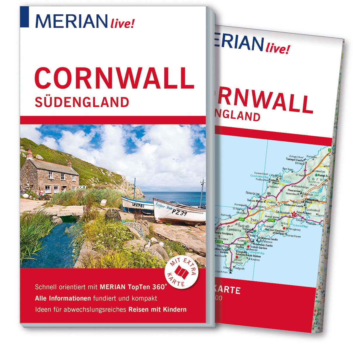 Cornwall England Km 3 Miles 13 Minutes South Map Of The
