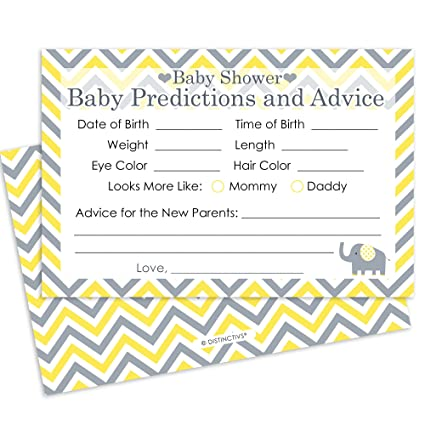 Amazon Yellow And Gray Elephant Baby Shower Advice And